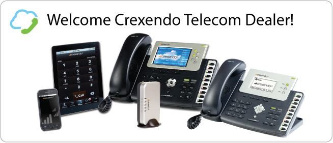 Welcome Crexendo Telecom Dealer